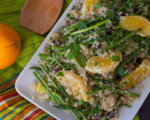 Quinoa Salad with Asparagus and Oranges