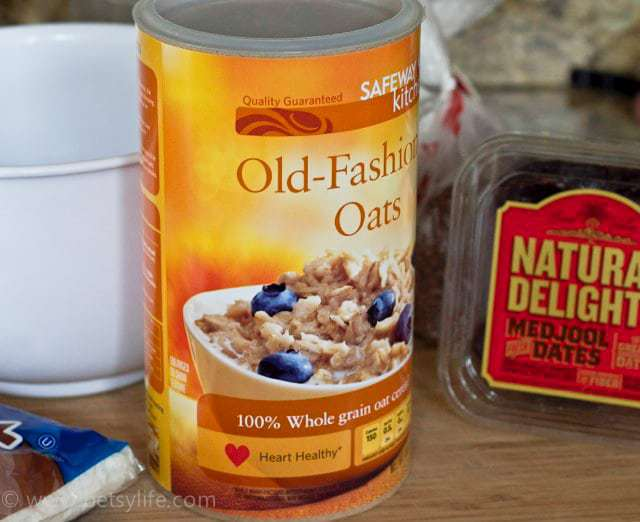 can of rolled oats