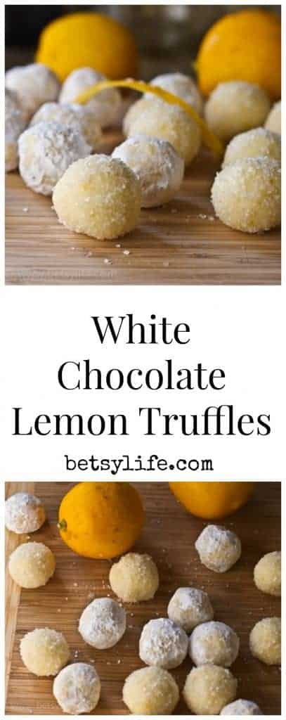 Super Simple White Chocolate and Lemon Truffles Recipe