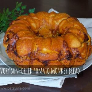 Savory Sun-Dried Tomato Monkey Bread