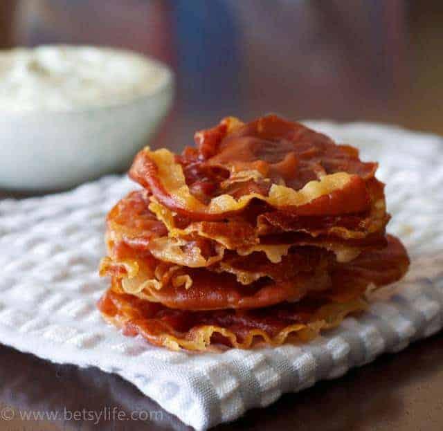 Prosciutto Chips