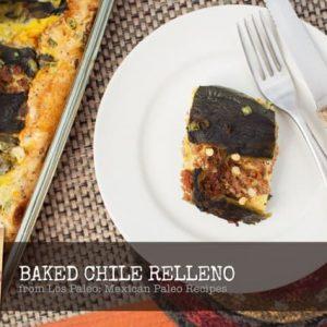 Paleo Porn: Baked Chile Relleno