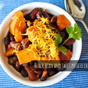 Seasonal Potluck: Sweet Potato and Black Bean Chili