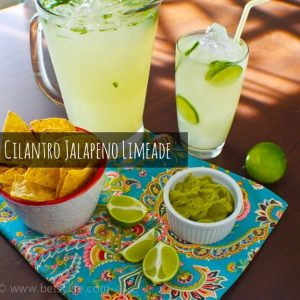 Cilantro Jalapeno Limeade and a Giveaway!!