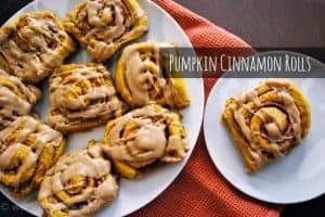 Seasonal Potluck: Pumpkin Cinnamon Rolls