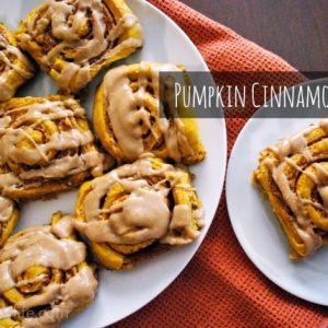 Seasonal Potluck: Pumpkin Cinnamon Rolls