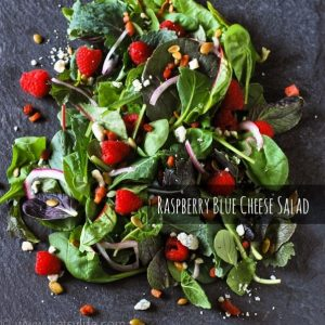 Raspberry Blue Cheese Salad