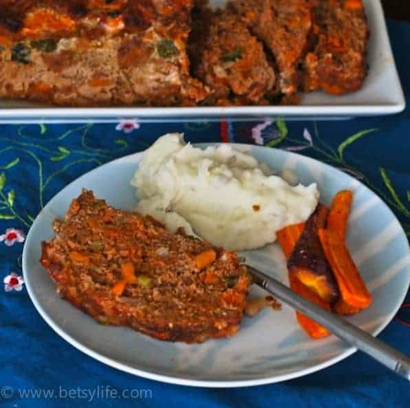 chorizo-meatloaf-recipe-serving