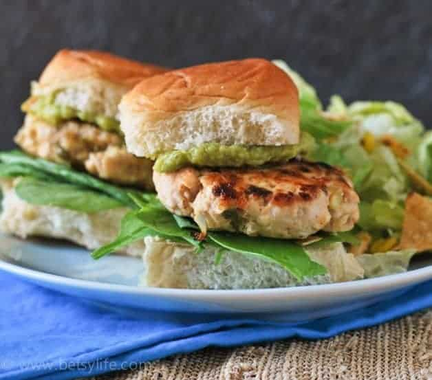 hatch-chile-turkey-sliders-recipe-serving