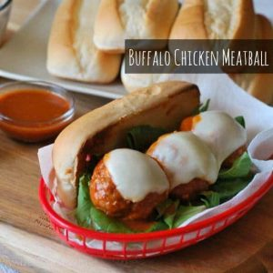 Tapatio Buffalo Chicken Meatball Sub