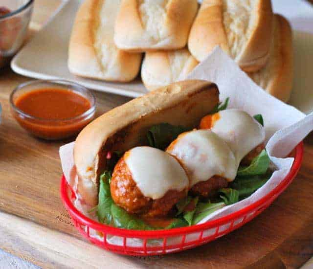 buffalo-chicken-meatball-sub-sandwich-recipe