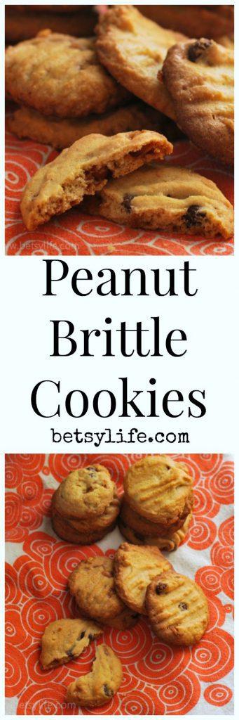 Peanut Brittle Cookies