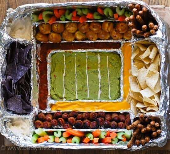 How to build an epic snack stadium | Betsylife.com