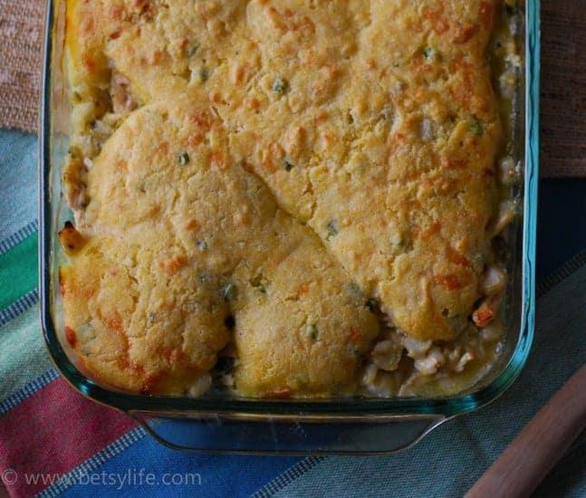 Chicken Posole Casserole | Betsylife.com