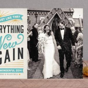Happy New Year Cards with Minted {Sponsored}