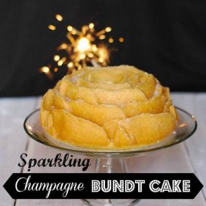 Sparkling Champagne Bundt Cake