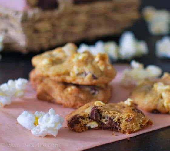 Popcorn Cookies Betsylife