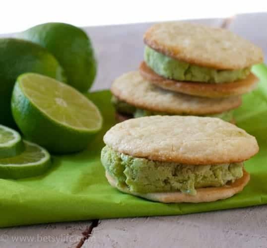 lime-basil-ice-cream-sandwiches-recipe