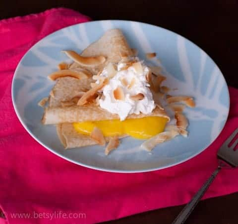 Passion Fruit Crepes | Betsylife.com