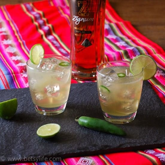 Chili Ginger Margarita | Betsylife.com