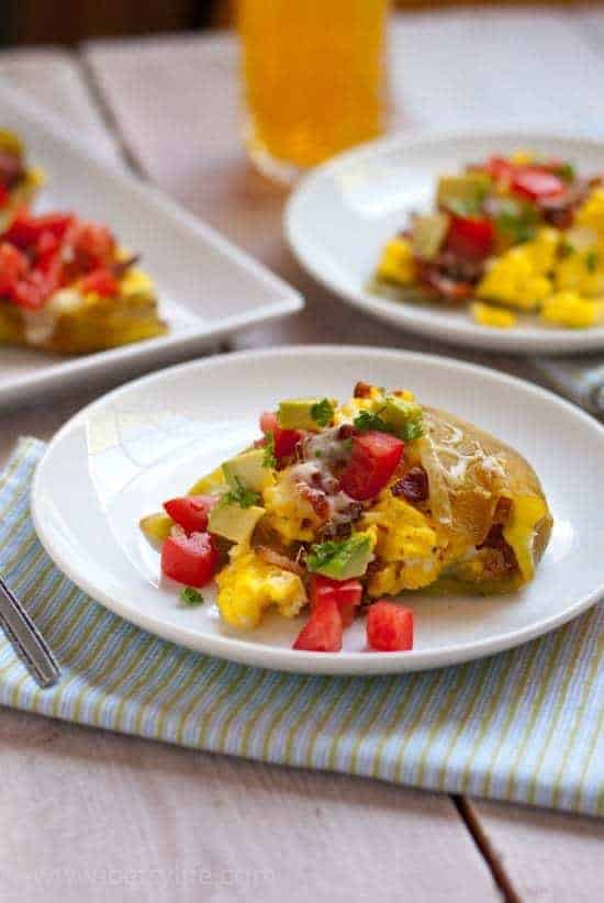 Bacon and Egg Stuffed Chiles   Betsyilfe.com