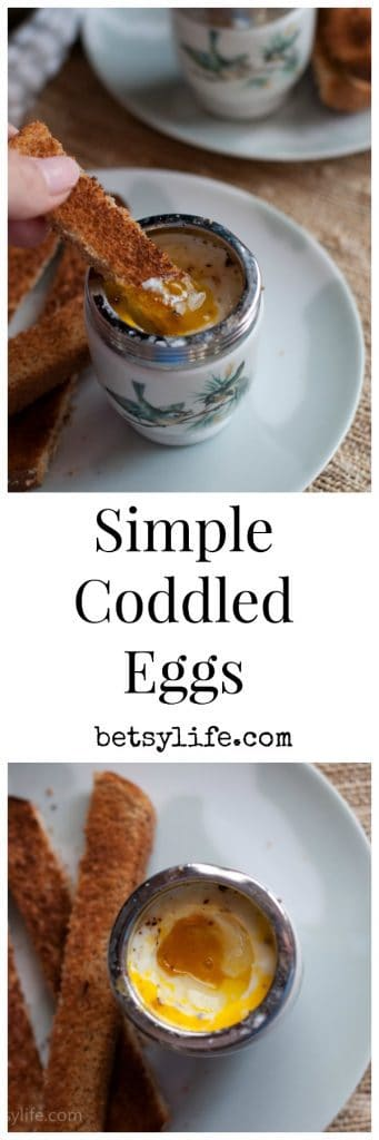 Simple, Classic Coddled Eggs