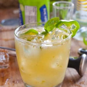 Green Dragon Bacardi Cocktail