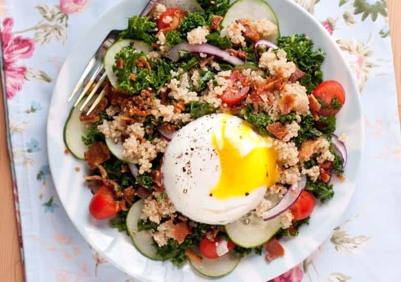 Kale Breakfast Salad