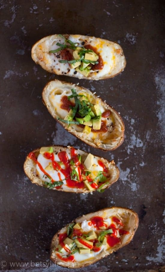 Breakfast Potato Skins {Video}