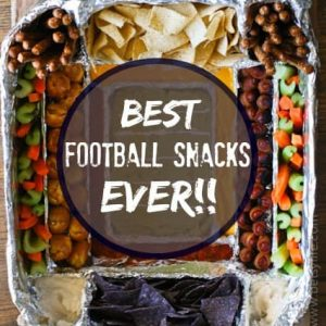 The Greatest Football Snack Recipes Ever