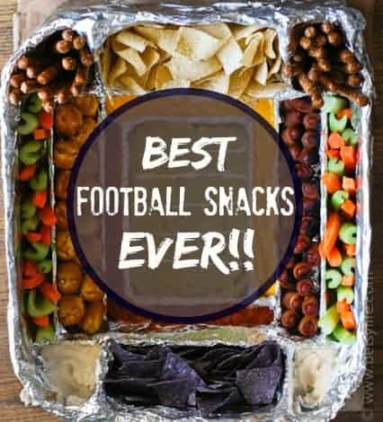 Greatest Football Snack Recipes Ever