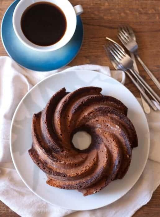 Cappuccino Bundt Cake | Betsylife.com