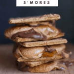 stack of gooey pumpkin smores