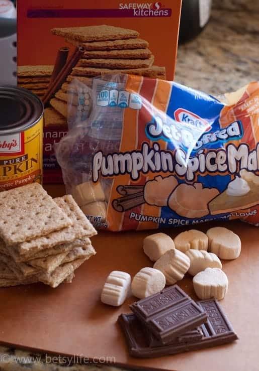 Pumpkin Pie S'mores |Betsylife.com