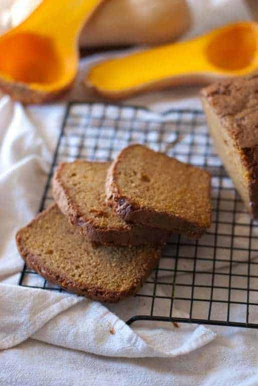 Spiced Butternut Squash Bread | Betsylife.com