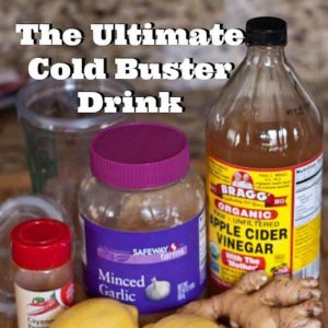 The Ultimate Cold Buster Drink