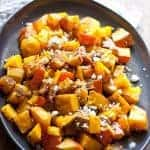 Roasted Kabocha Squash with Balsamic and Feta