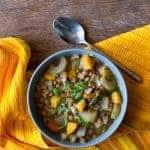 vegetarian-Lentil-soup-recipe