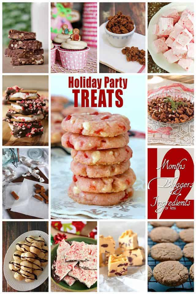 12 amazing holiday party treats. Something to please everyone at your next holiday gathering |Betsylife.com #12bloggers