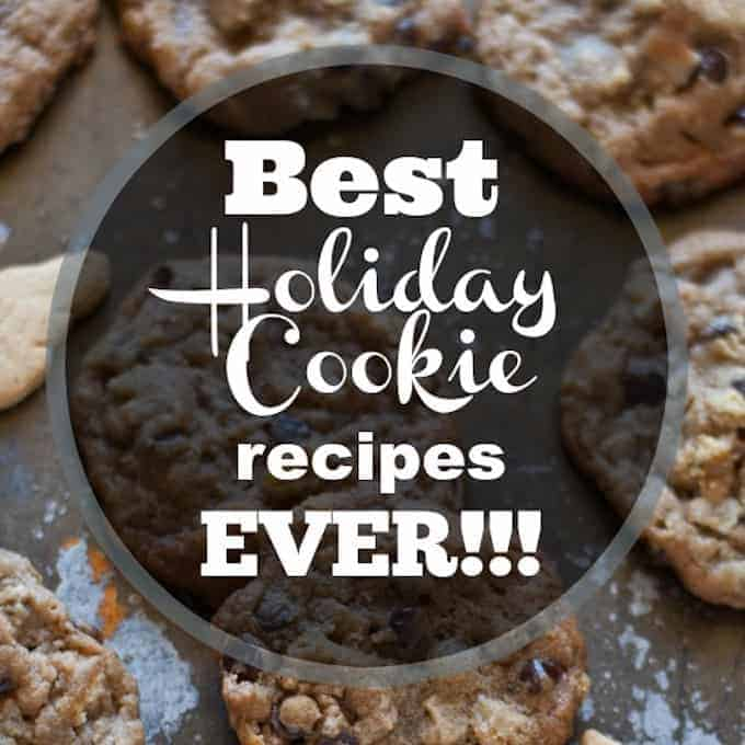 Greatest holiday cookie recipes ever!