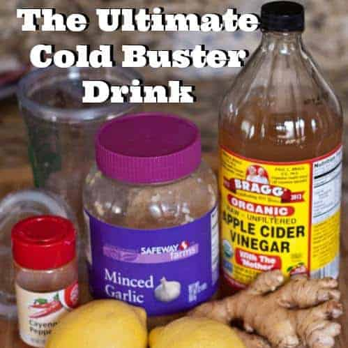 Ultimate Cold Buster Drinks
