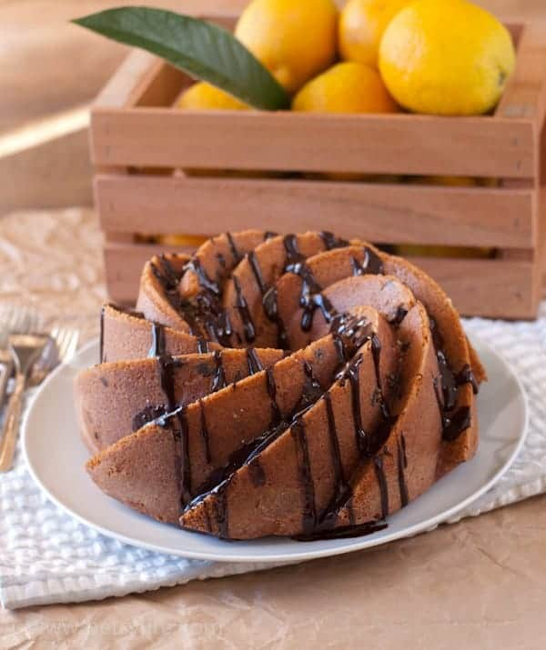 Dark Chocolate Orange Bundt Cake