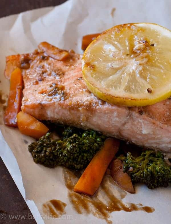 Soy Ginger Salmon. Healthy and light dinner for one or the whole ...