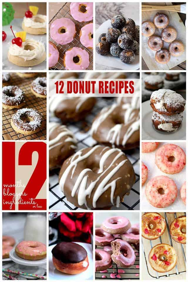 12 awesome donut recipes #12bloggers