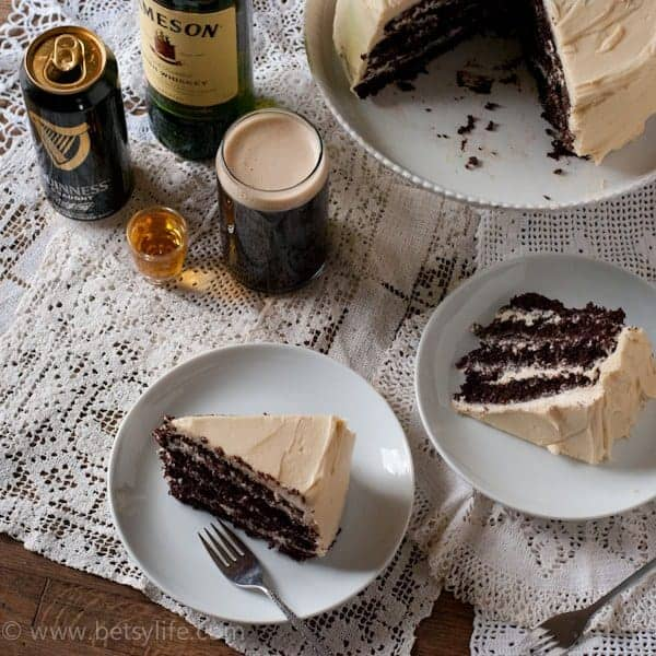 Boozy Chocolate Stout Cake