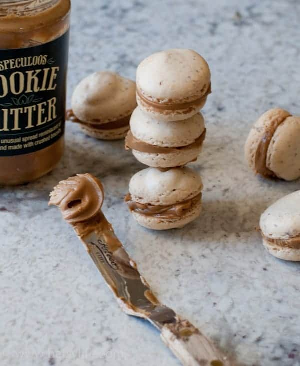 Cookie Butter Macarons