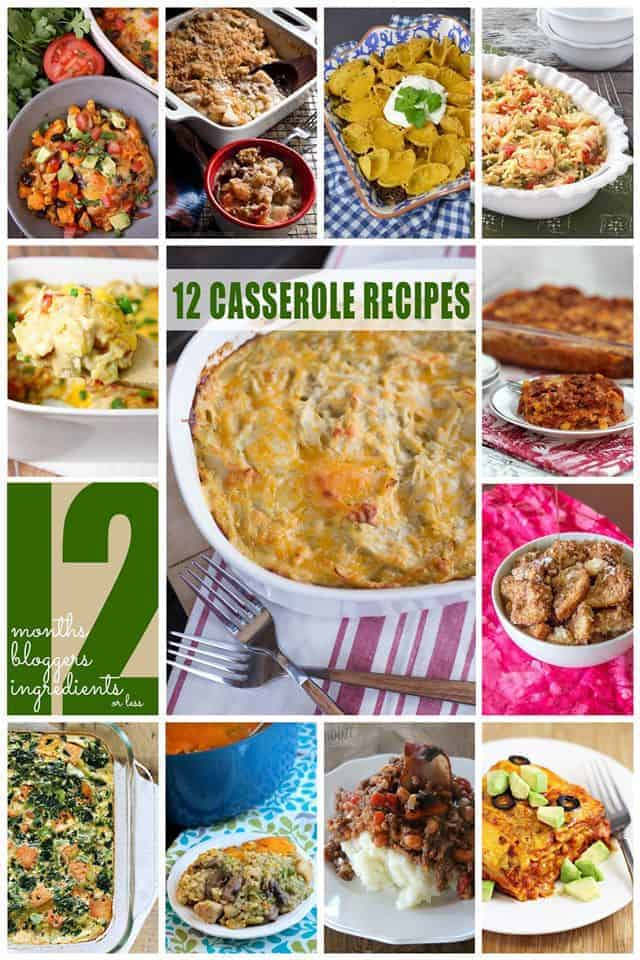 12 best casserole recipes photo collage