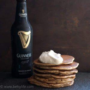 Super Easy Guinness Pancakes