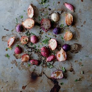 Simple Roasted Radishes