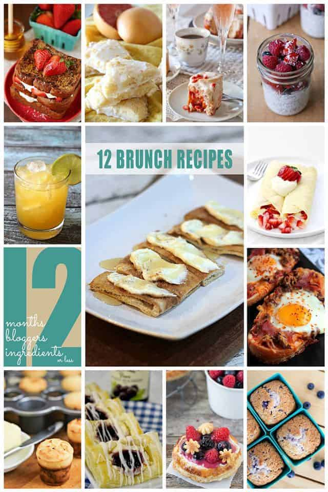 12 Greatest Brunch Recipes EVER!